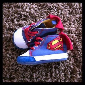 Superman shoes 6-9 month